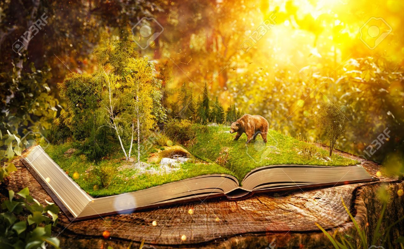 61321439-livre-ouvert-avec-la-forêt-sauvage-et-l-ours-sur-les-pages-liste-des-espèces-menacées-insolite-illustra.jpg